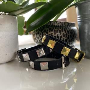 Jag och mina kompisar driver ett UF-företag där vi säljer dessa armband(Rewrist på instagram) Vi säljer i både guld och silver. Dom är ca 19cm långå och har 4 reglerbara hål. 119kr för ett silvrigt och 129 för ett guldigt💕