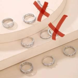 Superfina ringar i silver. Köparen står för frakten 💕💓💓20kr för en ringen sedan 15 för varje. Kan vara öppen för förhandling💕💓 Om intresset är stort blir de budgivning💓💕