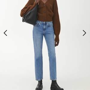 Säljer dessa jätte fina jeans som endast är använda en gång