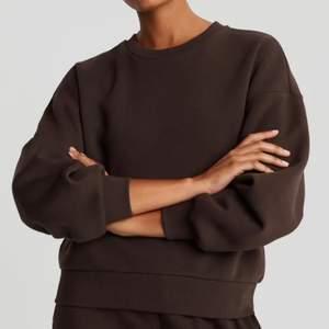 Säljer denna mintgröna sweatshirten från ginatricot. (Samma passform som den bruna) 75kr+frakt!
