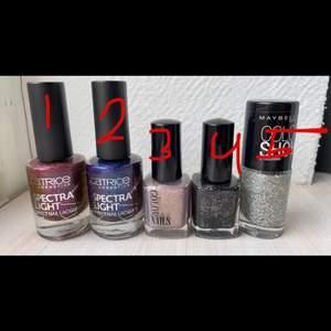 Säljer ännu fler nagellack nu. 10kr st för dessa. Köp fler o få en ganska stor rabatt💕😊.