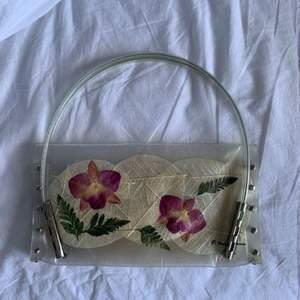 Jättefin vintage handmade väska.