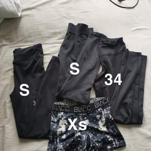 Klädpaket med träningsbyxor, alla i fint skick! 🥰