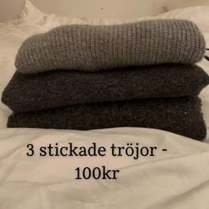 ALLA 3 för 100kr + frakt! Storlek S, skriv för bild på varje tröja om det önskas!❤️ Kolla gärna mina andra annonser, kan samfrakta upp till 1 kilo😍💕