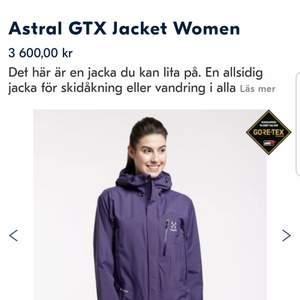 Astral gtx jacka använd nån gång som ny. Lila färg och storlek S kostar 3600. Mitt pris 2000