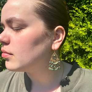 Otroligt vackra örhängen från 70-talets Italien, som jag köpte i en smyckes butik i Stockholm som specialisera sig på vintage smycken. Ordinarie pris: 400kr. Jag säljer örhängenerna för att jag inte har haft användning av dom :( Det är bara att höra av sig om det finns några frågor!