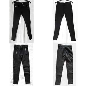 Säljer två svarta byxor i storlek S för 120kr, inklusive frakt.