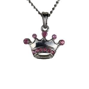 Halsband med krona, 40 cm långt