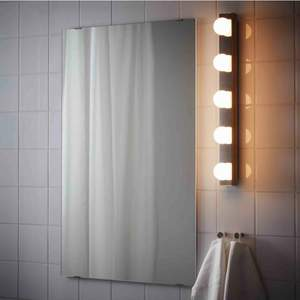 """Två LED Vägg/sminklampor i rostfritt stål """"Ledsjö"""" från Ikea! Aldrig använda! Nypris: 499kr/styck"""