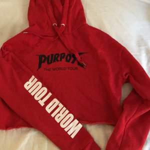 Croppad justin bieber hoodie, helt oanvänd