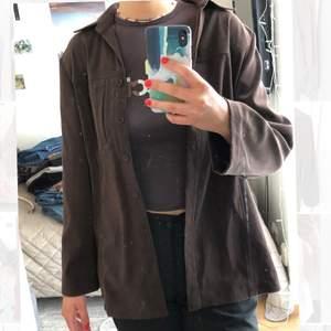 Skjortjacka i mockaimitation:)