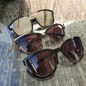 3 for 75sek - almost new river island sunglasses