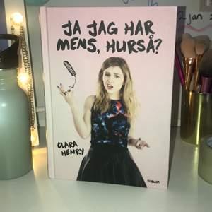 Säljer Clara Henrys bok. Som ny och inga skador. Bara legat i lådan så säljer den. Skriv lm intresse 💓💓