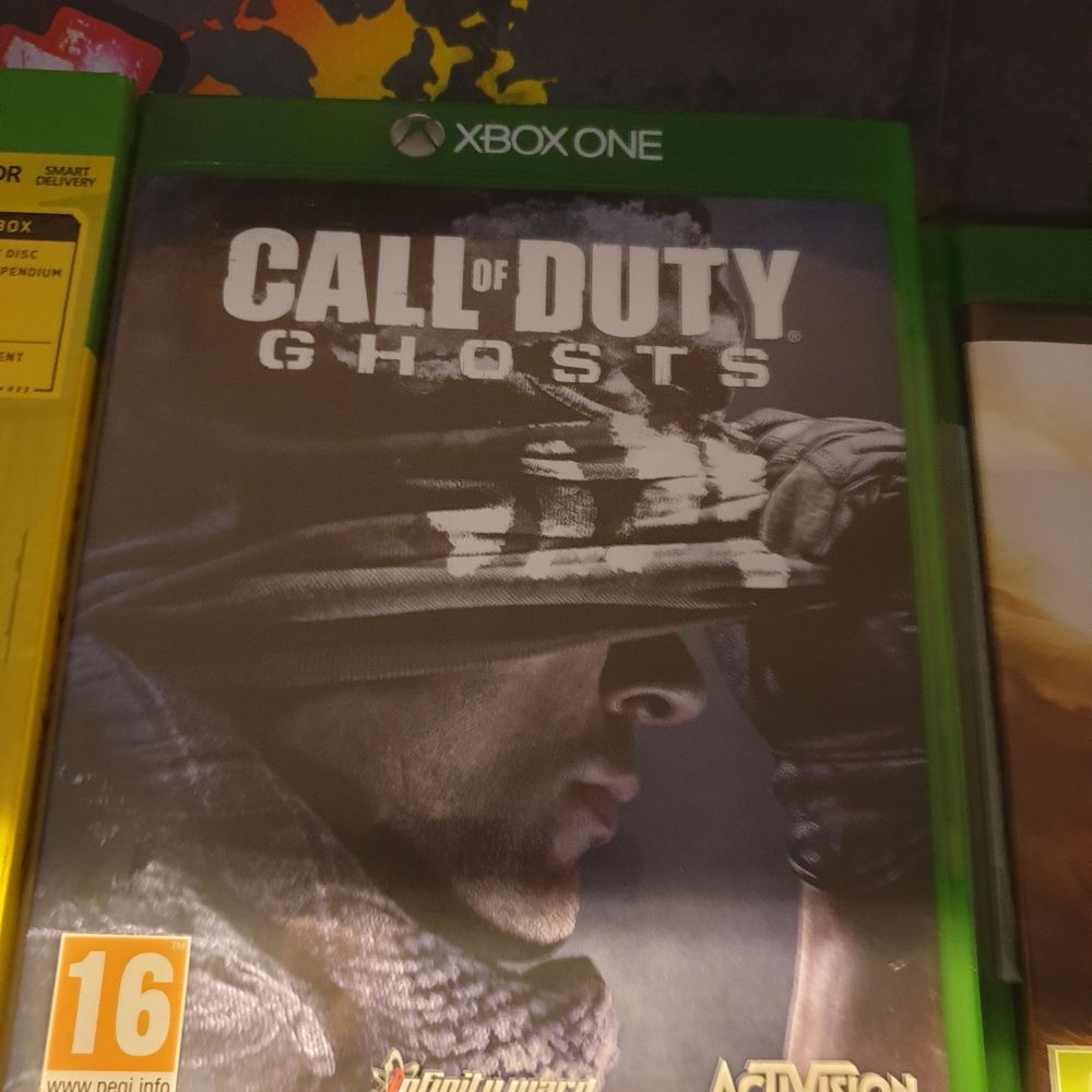 Xbox one spel Call Of Duty GHOSTS för 200 kr. Ni får betala för att jag ska kunna skicka spelet till er.. Övrigt.