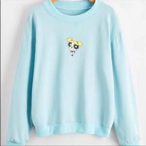 Super gullig sweatshirt med power puff girl motiv