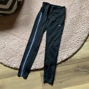 Snygga tights, enda att anmärka är på höger ben där reflex-tyget fått sig ett mindre hål. Se sista bild.