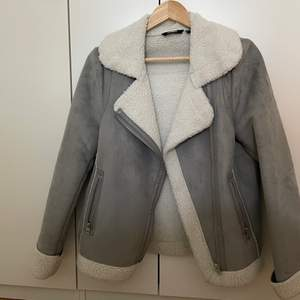 Fluffy jacket , size 38. Fit for xs-s-m . In a very good condition . Used only 2,3 times