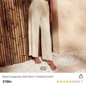 Säljer dessa byxor endast (inte setet) från SHEIN pga inte passade mig. Om för fler bilder 🌸🍦