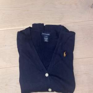 Oversized Ralph Lauren kofta (marinblå)