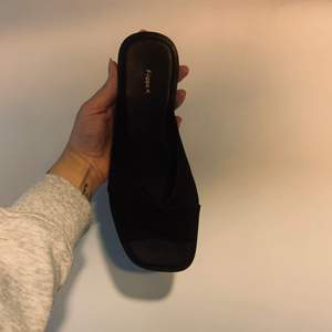 Super smooth Filippa K sandals in black. Very comfortable. Never worn outside.