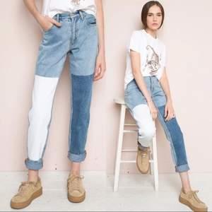 Brandy Melville jeans i storlek S. Köparen står för frakten som ligger på 65 kr och betalning sker via swish💕
