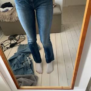 Blåa lågmidjade jeans från Replay, strl. midja: 29, längd: 32. Bra skick. Pris + frakt