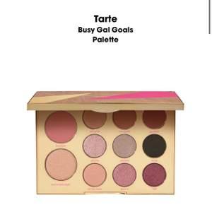 """Palett från Tarte """"busy gal goals palette"""" - inte ens testad, helt i orginalförpackning. Nypris på sephora 519:-"""