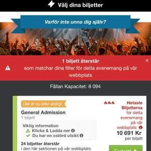 LIL TJAY BILJETTER FÖR HANS KONSERT I STOCKHOLM DEN 7 NOVEMBER , nypris : ca 10 000 kr, vårt pris : 7000 men kan sänkas vid snabb affär