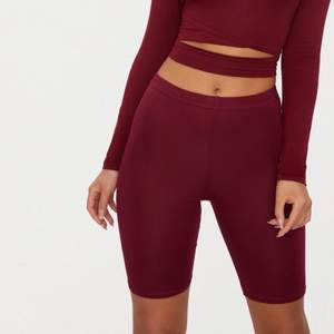 """Bought from second hand. Tag size US 6 / EU 36. """"bike shorts are an essential for the new season and we are loving this basic style. Featuring a maroon jersey material, team them with a maroon hue cropped sweater for a look we're loving."""" No holes, tears, rips, stains, fading. Label and care instructions tags removed cuz they're itchy. Smoke and pet free storage space. No other flaws to note. Disclaimer: Please expect some general wear in all secondhand pre-owned items as they have lived a previous life, so do not expect a mint item."""