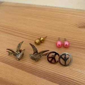 Säljer alla dessa örhängen. Köp alla för 25kr elr ett enstaka par för 9kr. Frakt tillkommer!😊