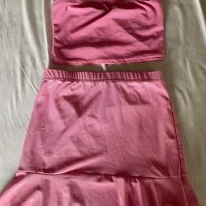 Kjol och topp från Boohoo. Aldrig använt, köpt förra året.
