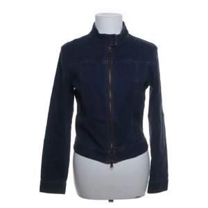 Jeans jacka i mörkblå