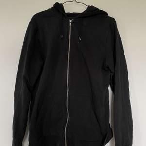 Zip hoodie i strl XL sitter oversize❤️