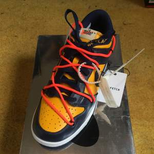 Nike dunk low x Off white michigan. Size US 7 / EU 40. Brand new. All original + receipt. No trades. Buyer adds shipping costs.