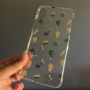 Säljer detta supersöta mobilskal som jag köpte förra året, dock har det aldrig används och blev slutsålt snabbt. Passar till iPhone X. 💓💓