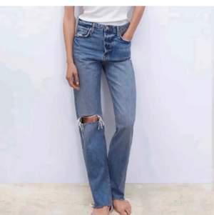 Intressekoll på dessa mega snygga jeans från zara🤪säljes pga för stora