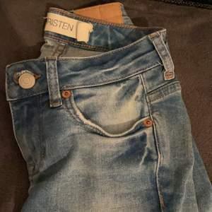 Använda endast två gånger! Ljusa jeans! Storlek 24/30!