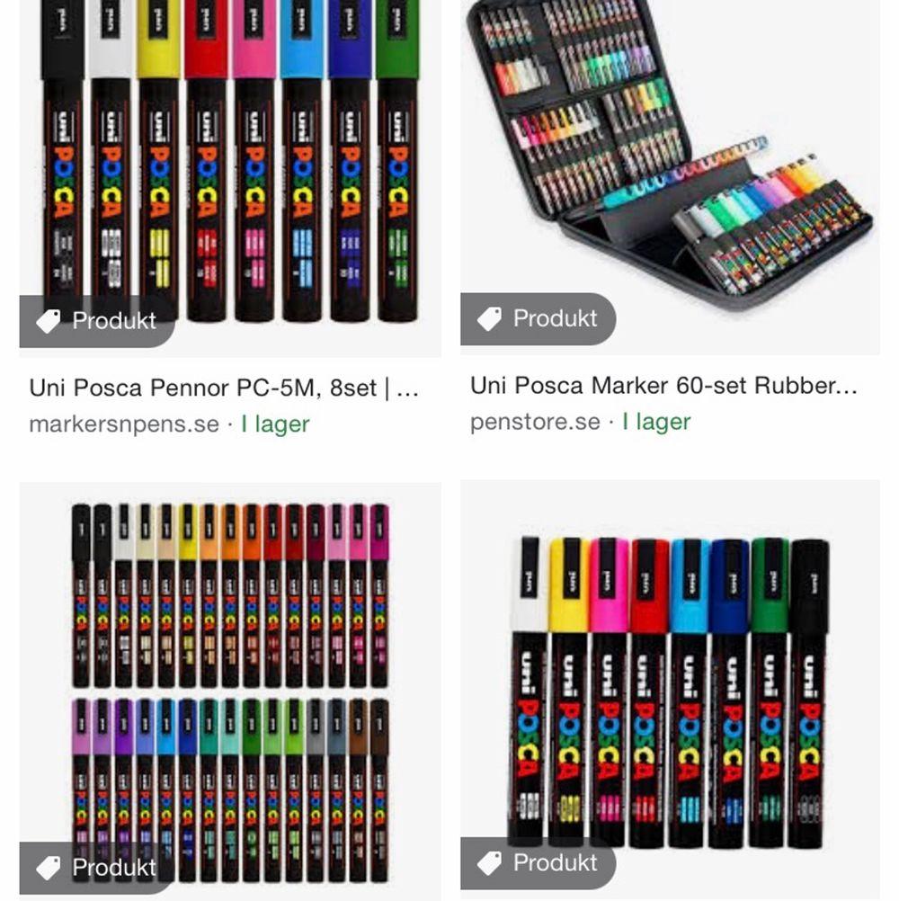 Söker posca pennor eller liknande pennor!! Till rimligt pris . Övrigt.