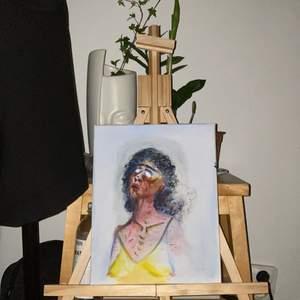 Ytterligare handmålad tavla med akrylfärg i canvas. Mått: 29,4x24. Fri frakt! Hör gärna av er ifall ni har några funderingar :))