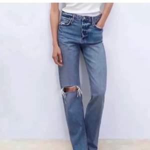 SÖKER! jag söker dessa jeans ifrån zara! Skriv till mig ifall du har eller är villig att sälja! Kan ha 34,36 eller38