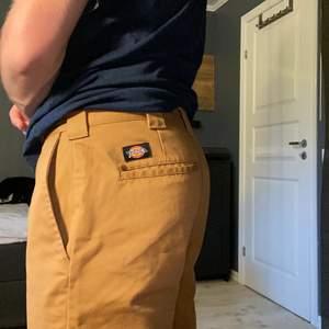 Bruna dickies workpants slim fit i storlek 31/32. Inte använda mycket alls!🤎