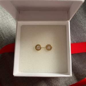 Oanvända örhängen i 18k guld från Albrekts Guld. Nypris 1150 kr☺️ Levereras i orginalförpackningen om önskat.