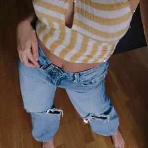 """Säljer dessa """"Perfect jeans"""" från Gina trugor. Storlek 34. Använda men i bra skick! Köparen står för frakt!! Är 166"""