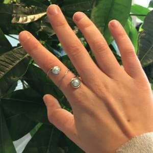 En fin hemmagjord ring som formar sig efter fingret. Passar bre till mycket t ex. Middagar och i din vardag.