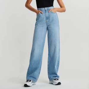 Idun wide jeans från Gina tricot. I väldigt bra skick. Köparen står för frakt.