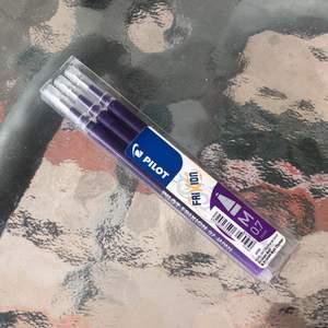3st helt nya, pennstift i lila bläck till frixon pennorna! Nypris är 89kr, nu säljer jag för 45kr inkl frakt