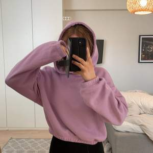 Skit cool lila hoodie💜 Från Zara, croppad