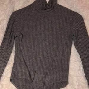 Säljer två bodies i nyskick! Den gråa är ifrån Zara i strl 164 (XS) med polokrage och den röda är ifrån boohoo i strl 36. 50kr/styck