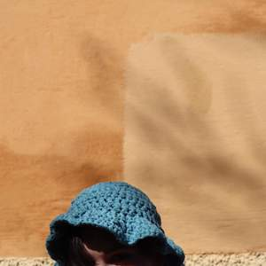 Fin virkad ljusblå buckethat, perfekt till sommaren! 🧶💙