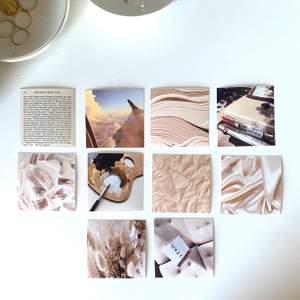 små söta mini-posters (6x6cm, kan skriva ut större vid intresse) med beige tema! köp 1 för 10, 5 för 40 eller alla 10 för 80kr✨ perfekt för dekoration i rummet, som jag har!😍